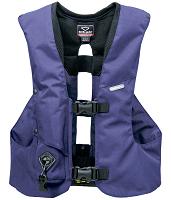 Om Hit-air airbag för ryttare